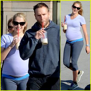 Teresa Palmer: Pregnant Workout with Mark Webber