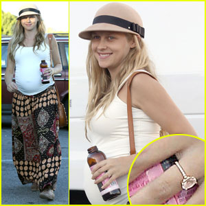 Teresa Palmer Steps Out After Wedding to Mark Webber - See the Ring!