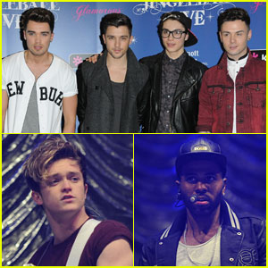 Union J & The Vamps: Manchester Jingle Ball 2013 with Jason Derulo