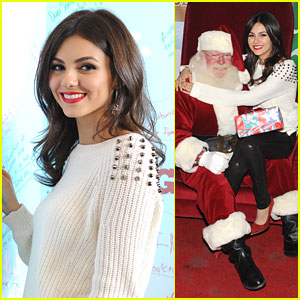 Victoria Justice: Holiday In The Hangar!