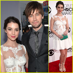 Adelaide Kane & Torrance Coombs: People's Choice Awards 2014