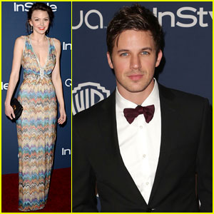 Aimee Teegarden & Matt Lanter: 'Star-Crossed' at Golden Globes After-Party!