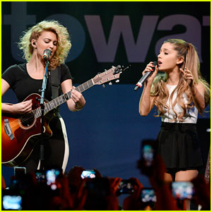 Ariana Grande Joins Tori Kelly for 'Right There' Performance - Watch Now!