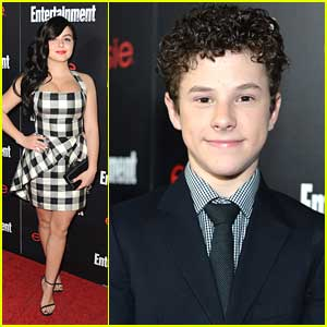 Ariel Winter & Nolan Gould: Entertainment Weekly's SAG Awards Pre-Party
