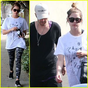 Ashley Benson & Ryan Good: Lunch Date Duo!