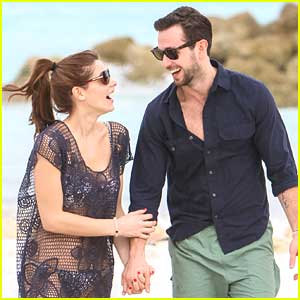 Ashley Greene & Paul Khoury: Sandals Royal Bahamian Spa Resort Vacation Pics!