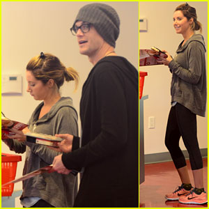 Ashley Tisdale & Christopher French: Healthy Eaters!