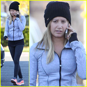 Ashley Tisdale: Jessica Alba is My Gym Motivation!