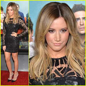 Ashley Tisdale: 'That Awkward Moment' Premiere