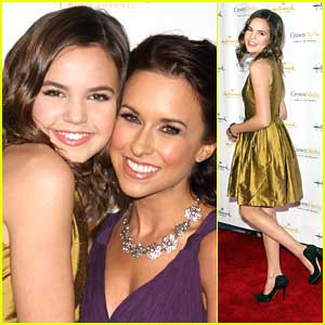Bailee Madison: Hallmark Channel TCA Party with Lacey Chabert