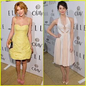 Bella Thorne & Emmy Rossum: Elle's Women in TV Celebration 2014