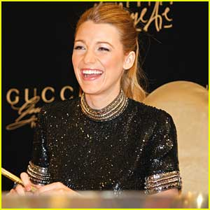 Blake Lively: 'Gucci Premiere' Photo Call in Dubai