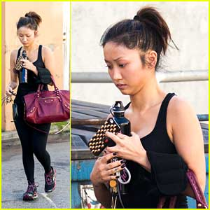 Brenda Song: Gym Time in the New Year!