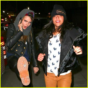 Cara Delevingne & Michelle Rodriguez Kick It in NYC