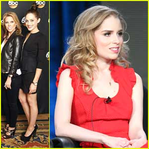 Carly Chaikin & Allie Grant: 'Suburgatory' TCA Panel