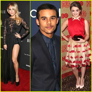Cassie Scerbo, Maisie Williams & Jacob Artist: Golden Globe Awards After Parties!