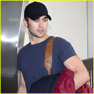 Chace Crawford: Ready for DirecTV's Celebrity Beach Bowl!