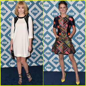 Claudia Lee & Jessica Stroup: Fox TCA Party