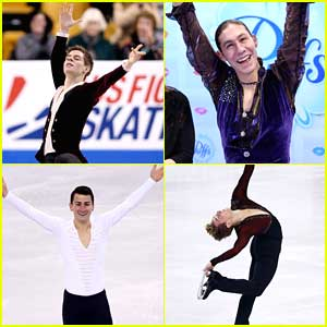Richard Dornbush & Jason Brown: 2nd & 3rd After Short Program at U.S. Nationals