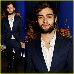 Douglas Booth: London Collections Closing Dinner