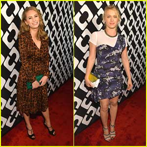 Leven Rambin and Dylan Penn: DVT Journey of A Dress Exhibition Opening Night!
