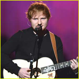 Ed Sheeran To Kick Off Teenage Cancer Trust Event!