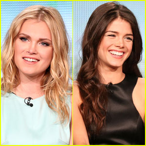 Eliza Taylor & Marie Avgeropoulos: 'The 100' TCA 2014 Panel