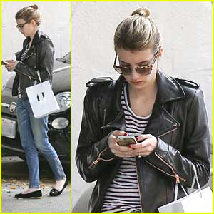 Emma Roberts: Nine Zero One Salon Stop
