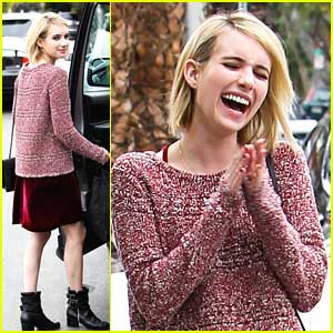 Emma Roberts: Reformation Shopping Stop