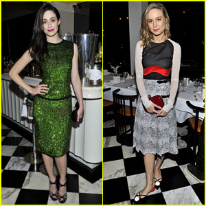 Emmy Rossum & Brie Larson: Antonio Berardi Private Dinner