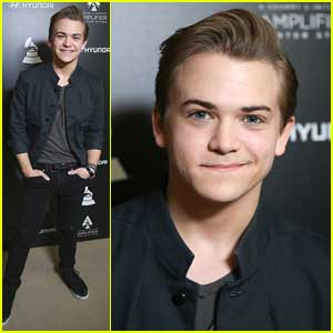 Hunter Hayes: Hyundai + The GRAMMY's Amplifier Center Stage Press Day