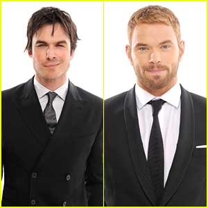 Ian Somerhalder & Kellan Lutz: Critics' Choice Movie Awards 2014