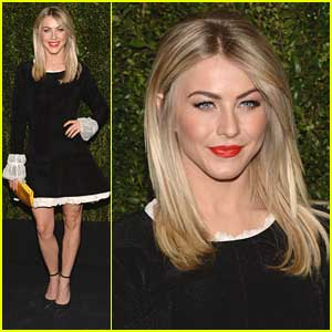 Julianne Hough Celebrates Drew Barrymore's Book with Chanel