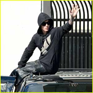 Justin Bieber Leaves Jail in Miami