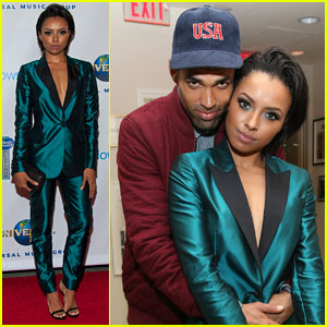 Kat Graham & Cottrell Guidry: Grammys After-Party Pair!