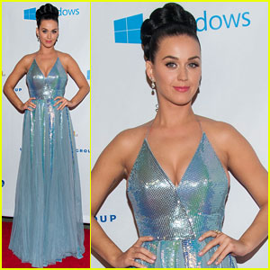Katy Perry Glitters at Grammys After-Party!