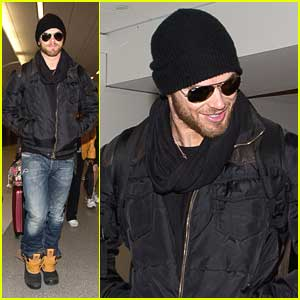 Kellan Lutz: LAX Arrival After Sundance 2014