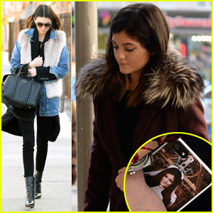 Kylie Jenner Uses Fan-Made Phone Case