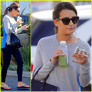 Lea Michele: Fun 'Glee Morning' with Naya Rivera & Gwyneth Paltrow!