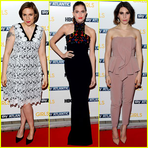 Lena Dunham & Allison Williams: 'Girls' London Premiere