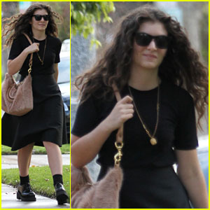 Lorde: Post-Grammys Shopping Spree!