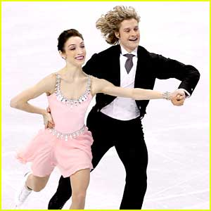 Meryl Davis & Charlie White Top Leader Board After Short Program at U.S. Nationals
