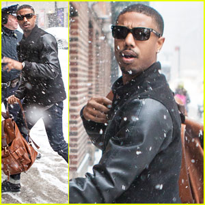 Michael B. Jordan Talks 'Star Wars' & 'Fantastic Four' Rumors on 'Letterman'