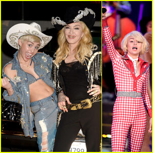 Miley Cyrus: Madonna Duet for MTV Unplugged Performance! (Videos)