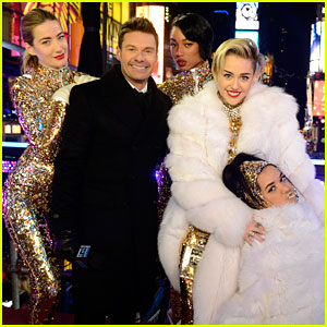 Miley Cyrus Performs on New Year's Eve (Video)