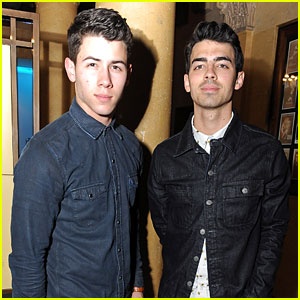 Nick & Joe Jonas: Pre-Grammy Party Pair