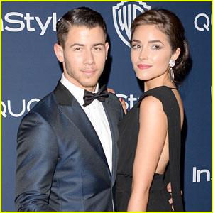 Nick Jonas & Olivia Culpo: InStyle Golden Globes 2014 Party Pair!
