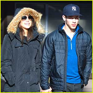 Nick Jonas & Olivia Culpo: Mammoth Mates