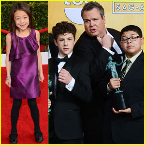 Nolan Gould & Rico Rodriguez: 'Modern Family' Win at SAG Awards with Aubrey Anderson-Emmons!
