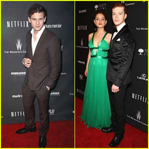 Odeya Rush, Cameron Monaghan & Jeremy Irvine: Netflix's Golden Globes After Party 2014